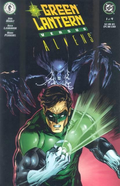 Green Lantern vs. Aliens