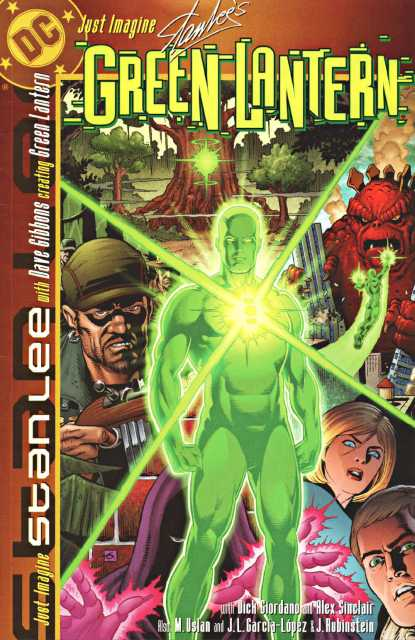 Just Imagine Stan Lee With Dave Gibbons Creating Green Lantern