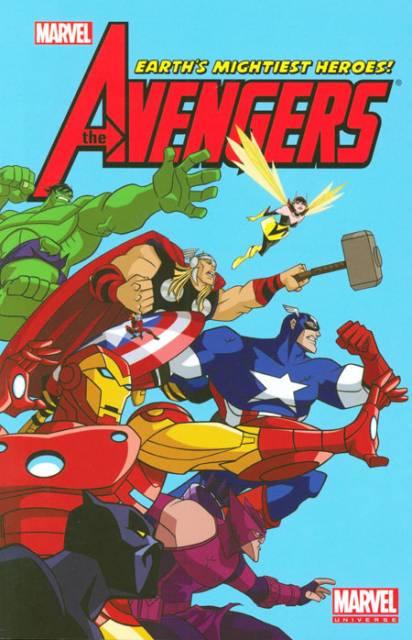 Marvel Universe Avengers Earth's Mightiest Heroes Digest