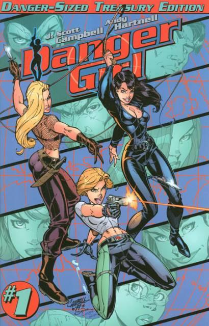 Danger Girl: Danger-Sized Treasury Edition