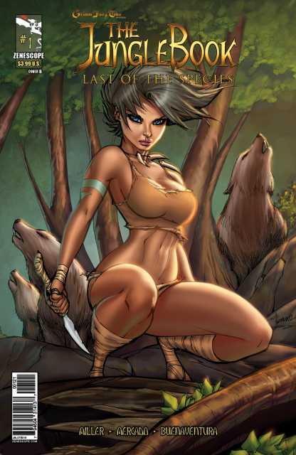 Grimm Fairy Tales presents The Jungle Book: Last of The Species
