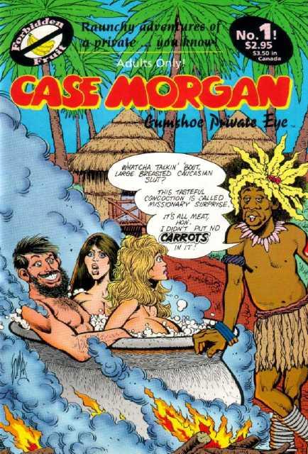 Case Morgan, Gumshoe Private Eye