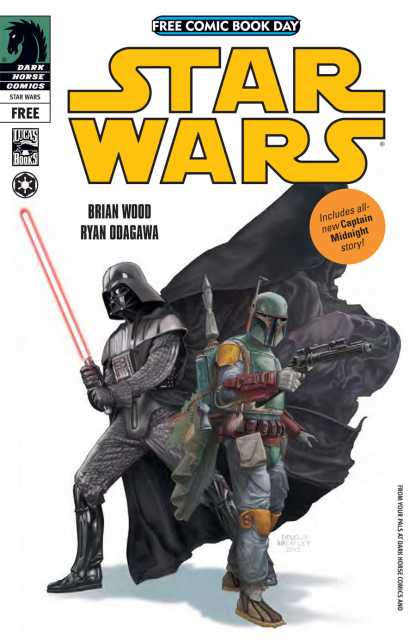 Free Comic Book Day: Star Wars and Captain Midnight / Avatar - The Last Airbender