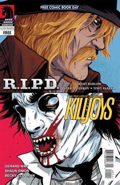 Free Comic Book Day: R.I.P.D. and the True Lives of the Fabulous Killjoys