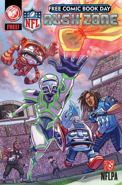 NFL Rush Zone Free Comic Book Day