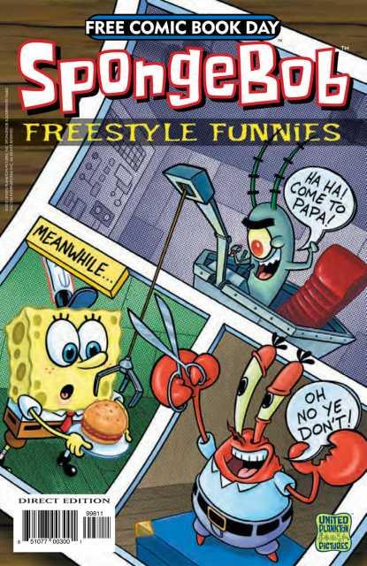 Spongebob Freestyle Funnies