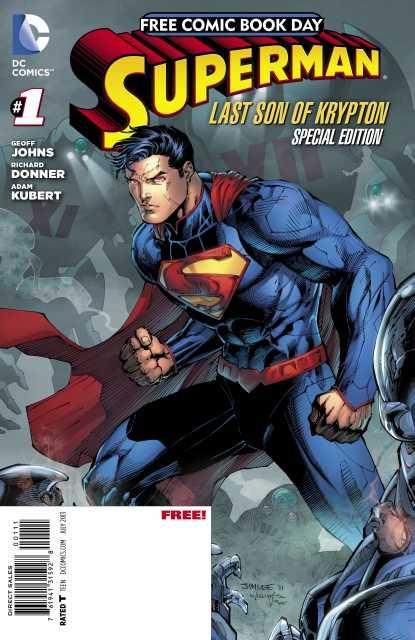 Superman: Last Son of Krypton FCBD Special Edition