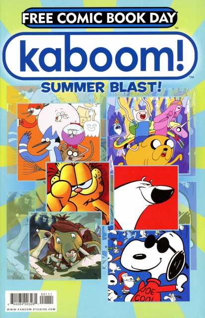 Kaboom! Summer Blast! Free Comic Book Day Edition
