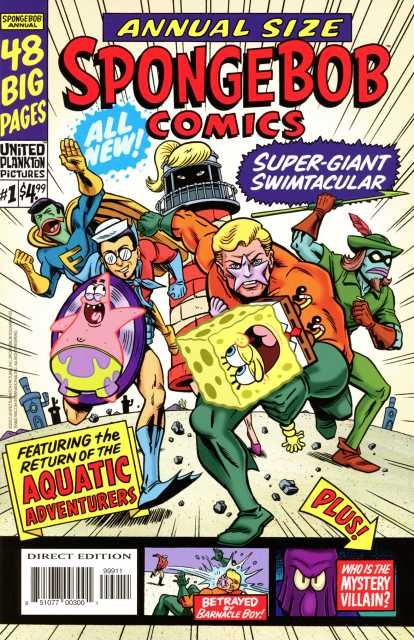 Spongebob Comics Annual Giant Swimtacular