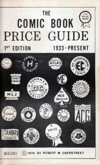 The Overstreet Comic Book Price Guide