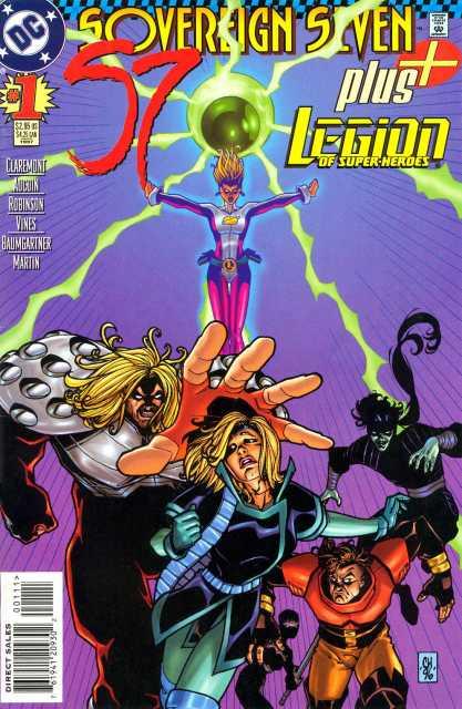 Sovereign Seven Plus Legion of Superheroes