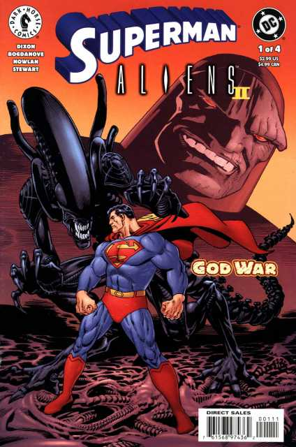 Superman Aliens 2: God War