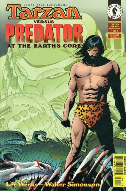Tarzan vs. Predator at the Earth's Core