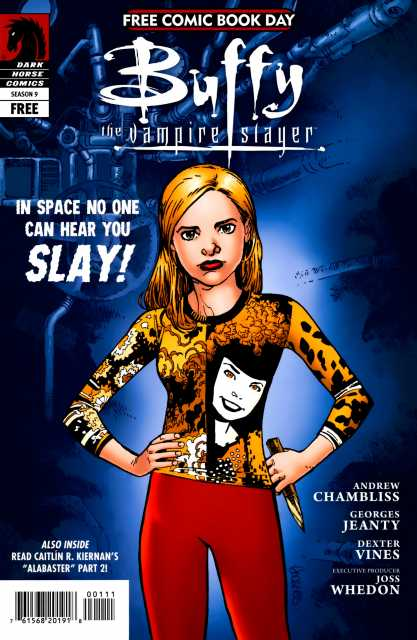 Free Comic Book Day and Buffy the Vampire Slayer Season 9 / The Guild: Beach'd