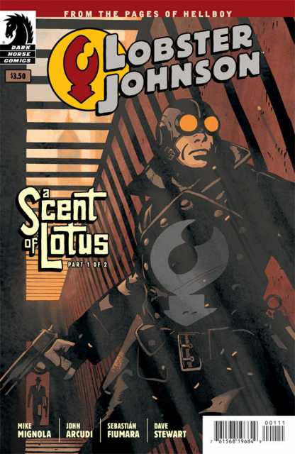 Lobster Johnson: A Scent of Lotus