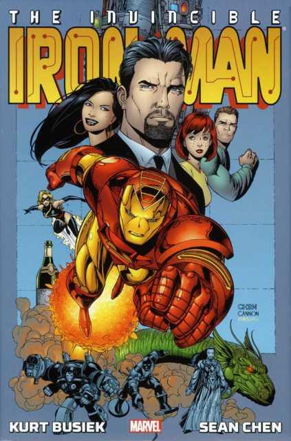 Iron Man By Kurt Busiek and Sean Chen Omnibus