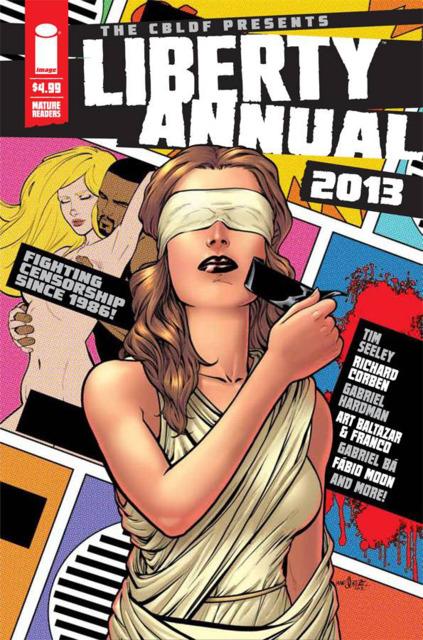 CBLDF Presents Liberty Annual 2013