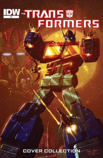The Transformers: Covers Collection