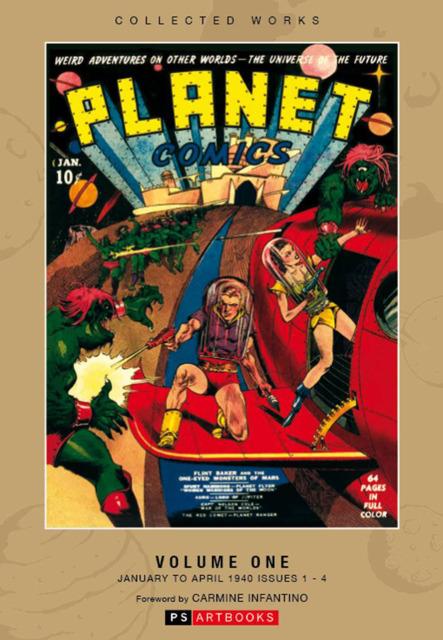 Roy Thomas Presents Planet Comics