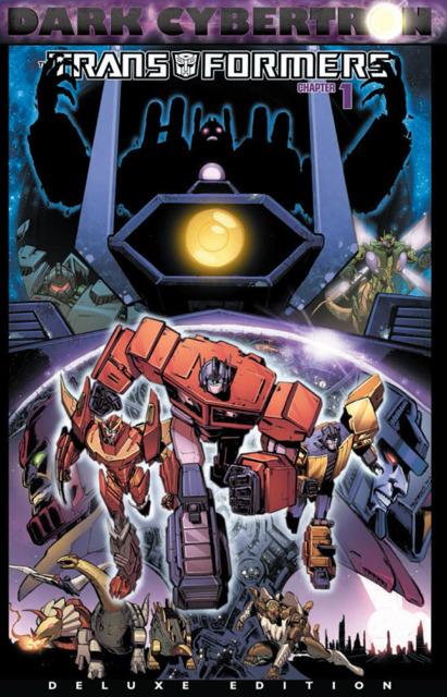 The Transformers: Dark Cybertron #1 Deluxe Edition