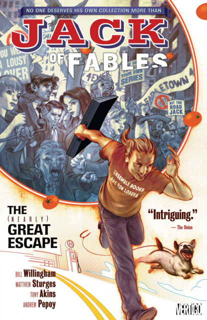 Jack of Fables: The (Nearly) Great Escape
