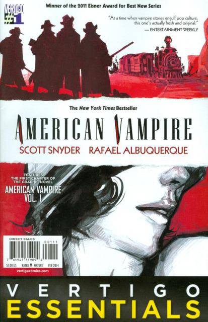 Vertigo Essentials: American Vampire