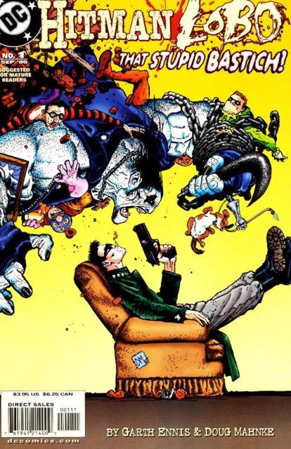 Hitman/Lobo: That Stupid Bastich