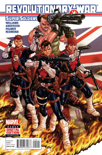 Revolutionary War: SuperSoldiers