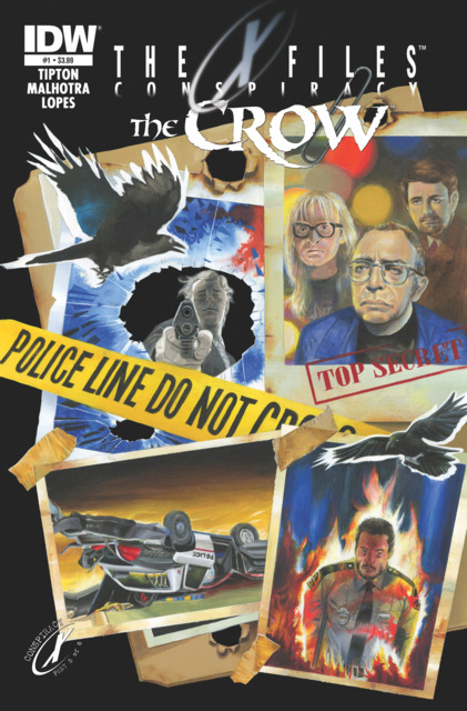 The X-Files/The Crow: Conspiracy