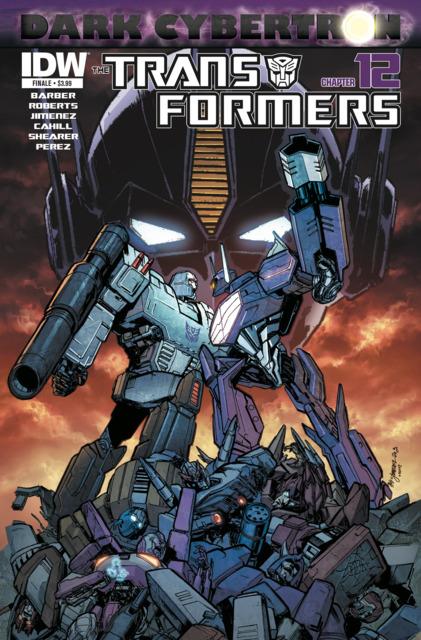 The Transformers: Dark Cybertron Finale