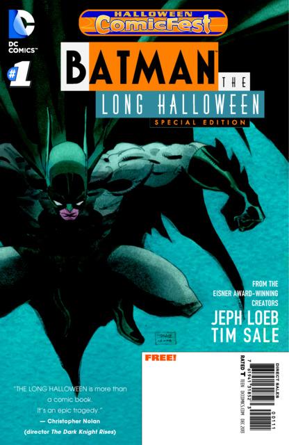 Batman: The Long Halloween - Halloween ComicFest
