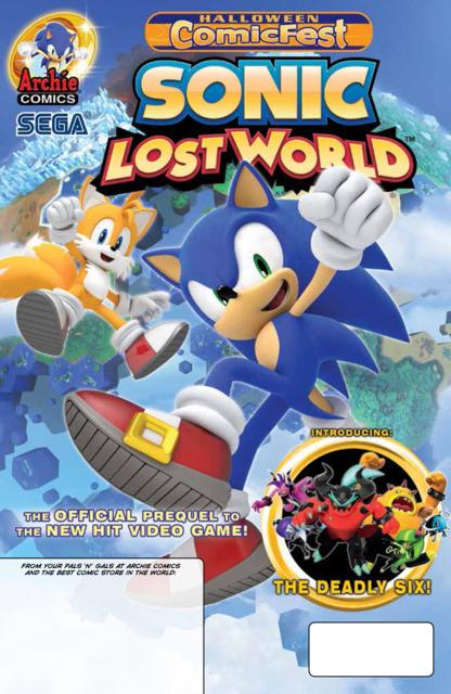 Sonic Lost World, Halloween Comic Fest Edition