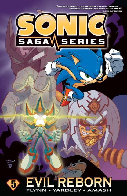 Sonic Saga Series: Evil Reborn