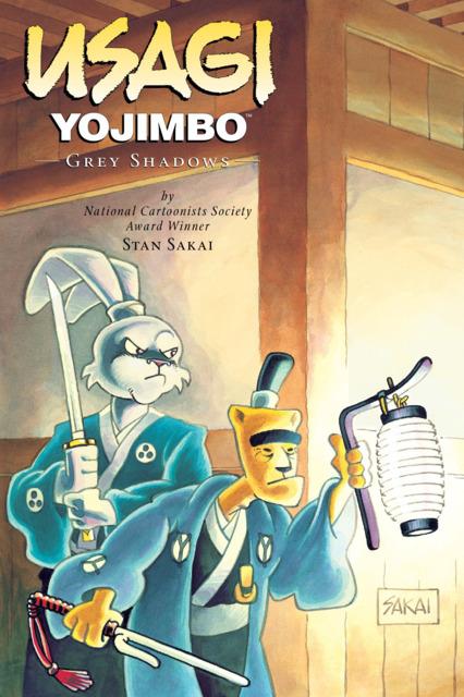 Usagi Yojimbo: Grey Shadows