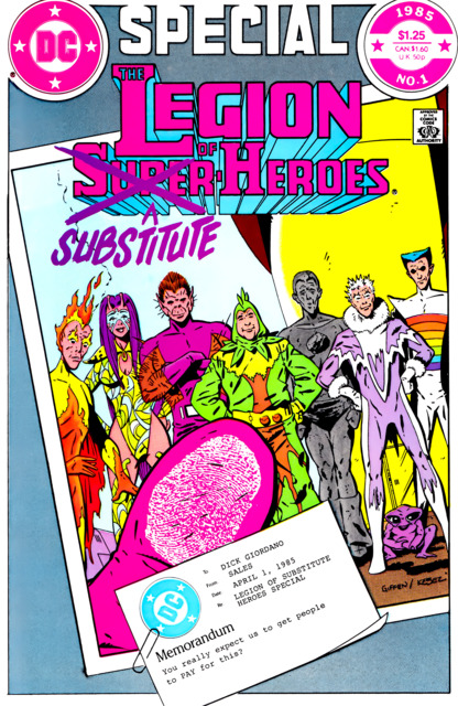 Legion of Substitute Heroes Special