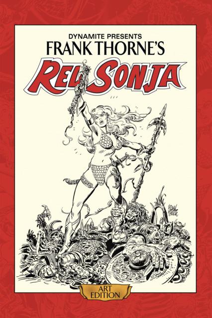 Frank Thorne's Red Sonja Art Edition