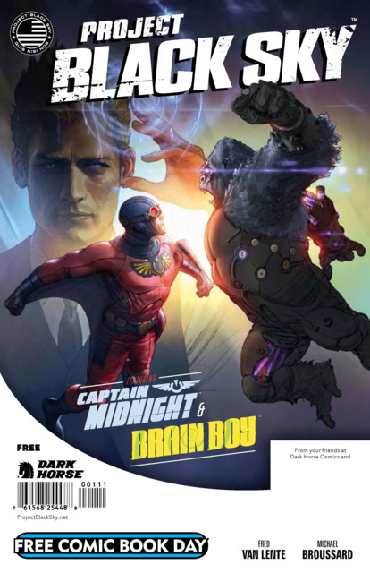 Free Comic Book Day: Project Black Sky