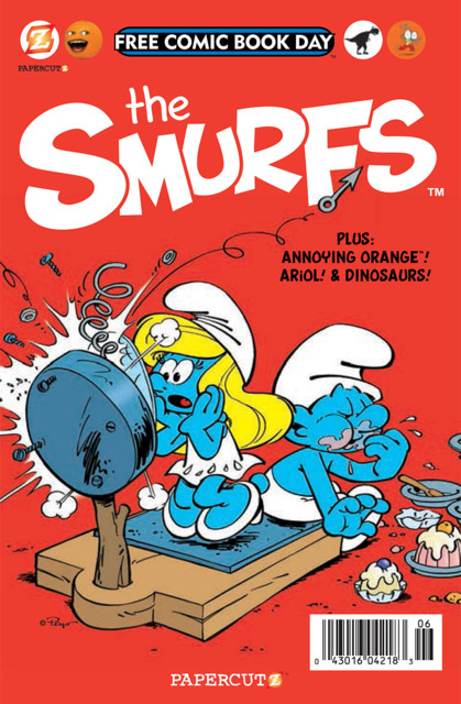 The Smurfs Free Comic Book Day