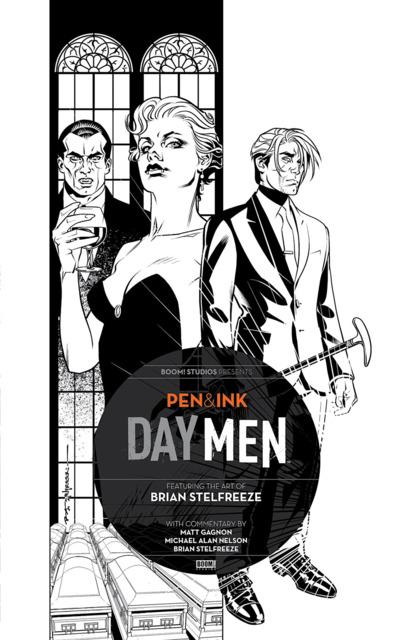 Day Men: Pen & Ink