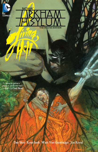 Batman Arkham Asylum: Living Hell - The Deluxe Edition