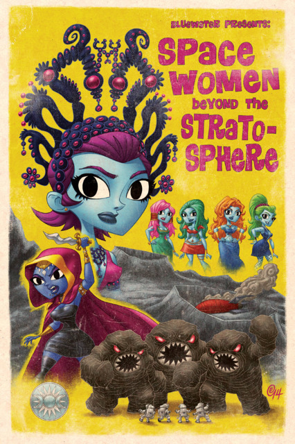 Space Women Beyond the Stratosphere