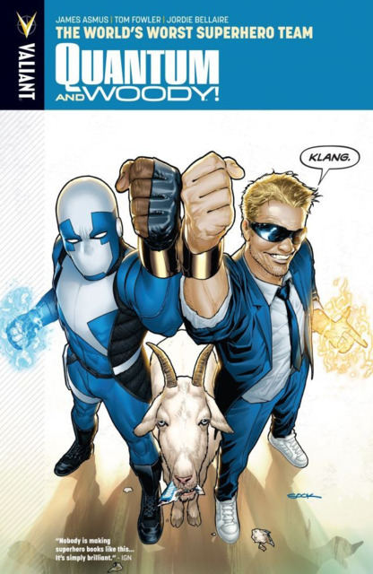 Quantum & Woody: The World's Worst Superhero Team