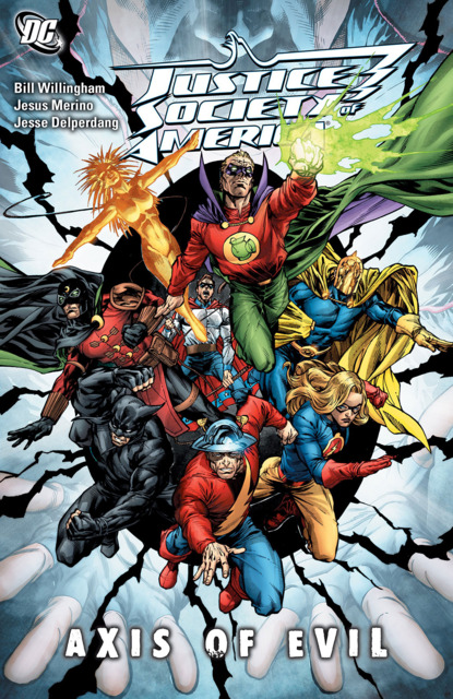 Justice Society of America: Axis of Evil
