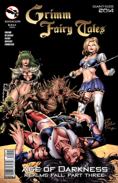 Grimm Fairy Tales Giant Size 2014