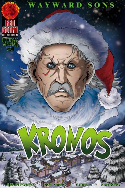 Wayward Sons: Legends Handbook - Holiday Special 2011