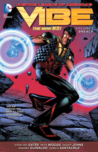 Justice League of America's Vibe: Breach
