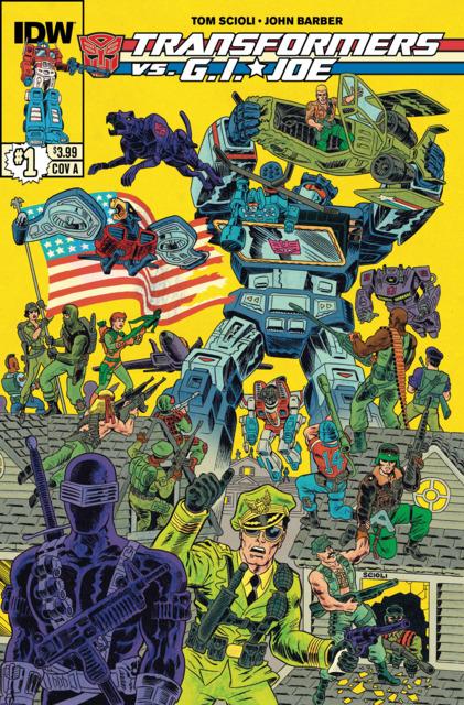 The Transformers vs. G.I. Joe