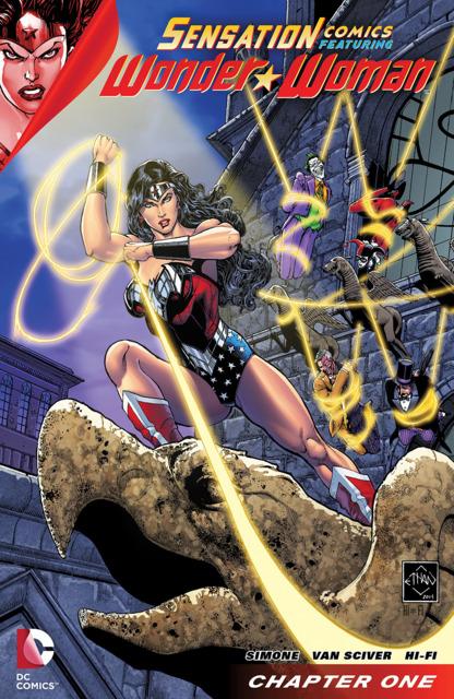 Sensation Comics Featuring Wonder Woman