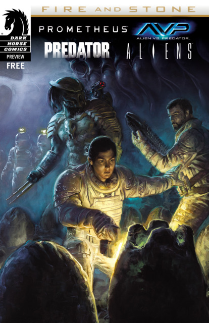 Prometheus: Fire and Stone - SDCC 2014 Ashcan