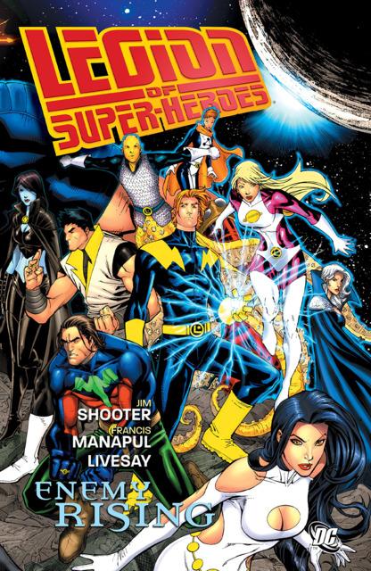 Legion Of Super-Heroes: Enemy Rising